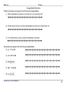two variable inequalities in standard form free puzzle worksheets like pizazz algebra. Black Bedroom Furniture Sets. Home Design Ideas