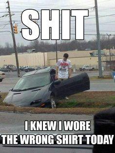 Wrong shirt