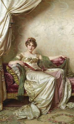 Frédéric Soulacroix (1858 - 1933) -Elegante