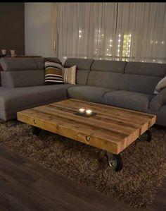 pinterest salontafel op wielen - Google zoeken