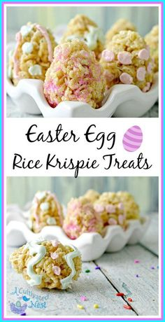 Easter Egg Rice Krispie Treats