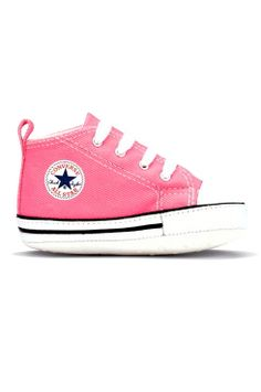 Converse All Star, Pink Baby Crib Shoes