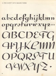 All sizes | sciptlettering p6 | Flickr - Photo Sharing!