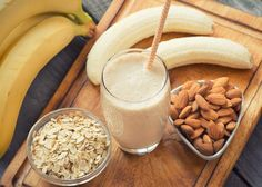 [Recipe] Weight Loss Program: Banana Oat n Probiotics Meal Replacement Smoothie - Page 2 of 2 - Drink Me Healthy Smoothies & Juicing Lactation Smoothie, Oat Smoothie, Oatmeal Smoothies, Healthy Smoothies, Smoothie Recipes, Good Healthy Recipes, Healthy Snacks, Nutritious Meals, Healthy Fats