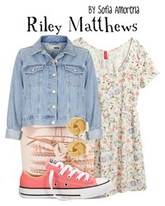 """""""Riley Matthews"""" by sofiaamorena ❤ liked on Polyvore featuring Mansur Gavriel, H&M, Topshop and Tiffany & Co."""
