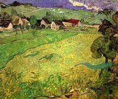 Auvers sur Oise (1890) Vincent van Gogh
