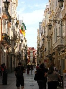 Calle Ancha, Cadiz Spain Walked this street every day!!!! A beautiful little world over there