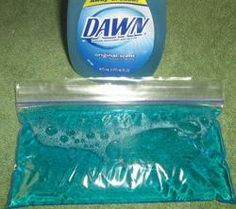 Uses for Dawn soap besides dishes!!