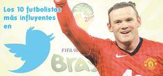 Los 10 futbolistas más influyentes en Twitter
