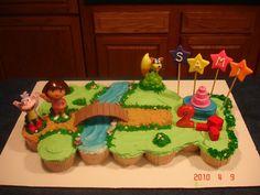 "Photo 1 of 9: Dora the Explorer / Birthday ""Dora the Explorer Birthday"" | Catch My Party"