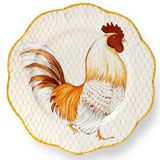 Plumes Rooster Dinnerware by Alberto Pinto | Gracious Style