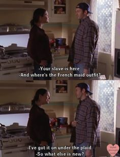 Gilmore Girls ❤ my fave tv couple :)