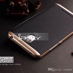 iPaky Premium TPU+PC Hybird Armor Protective Back Bumper Case Cover for Xiaomi Redmi Note 3 -Golden: Amazon.in: Electronics