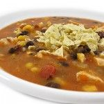 Heavenly Chicken Tortilla Soup with Weight Watchers Points | Skinny Kitchen
