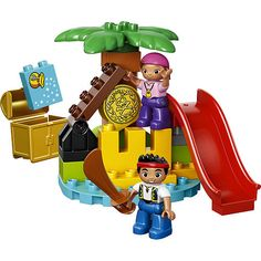 LEGO DUPLO Jake and the Never Land Pirates Treasure (10604)