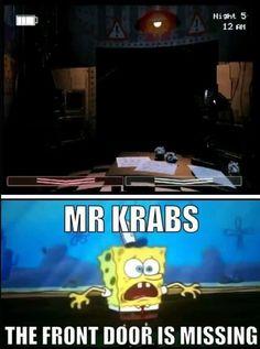 5 nights at krabs