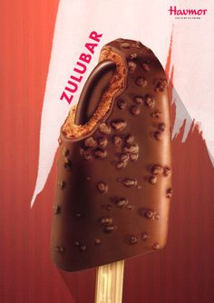Taste the chocolate with the almond-coated sugar-sweet Zulubar by Havmor Ice cream!