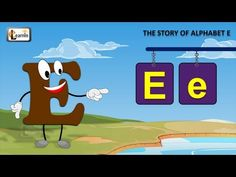 The E Song | Letter E song | Story of letter E | Abc songs |