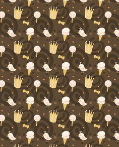 choco-01 fabric by katja_saburova on Spoonflower - custom fabric