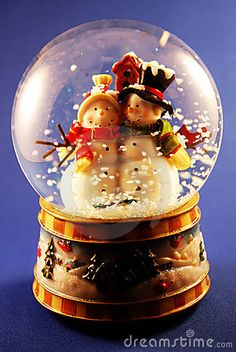 Snow Globe by Gary Lewis, via Dreamstime