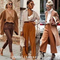 Amoda outono inverno 2020está repleta de combinações, cores e estampas lindas. E para quem é apaixonado por moda, sabe o quanto as tendências são importantes e capazes de nos auxiliar na hora de criarmos um estilo pessoal mais chique ou casual. Para isso, conhecer as possibilidades para as próximas estações é muito importante. E é claro que nós não poderíamos deixar de te ajudar neste processo! Fashion Face, Fashion Pants, Look Fashion, Fashion Outfits, Womens Fashion, Fashion Trends, Brunch Outfit, Everyday Dresses, Winter Looks