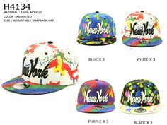 Graffiti New York #baseballcap @ www.sunben.com #wholesale @fashionaccessories