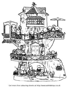 Magic Tree House Coloring Pages  magic tree house coloring pages