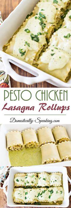 Pesto Sauce Lasagna