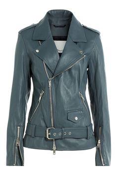 3.1 Phillip Lim Leather Biker Jacket, $1,649; stylebop.com