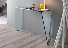 Tonelli Penrose Glass Console Table