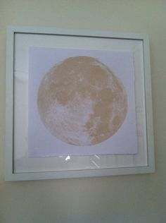 Harvest Moon 6x6 print by finchandfoxtail on Etsy, $15.00