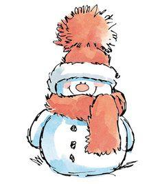 Super Cute Snowman