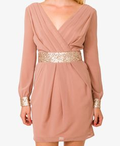 Sequined Georgette Dress | FOREVER21