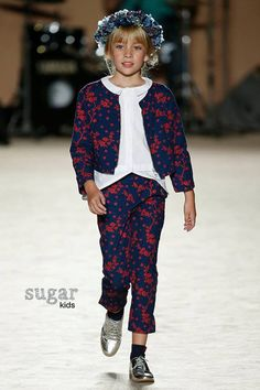 Gal·la from Sugar Kids for Cóndor. 080 Barcelona Fashion June 2016