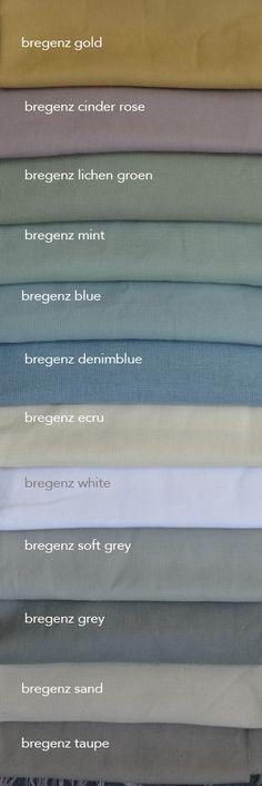 Ben jij op zoek stoere zware linnen gordijnen in kleur? Bregenz is een zware linnenmix stof met canvasbinding. Te koop in 140 breed en kamerhoog (dus naadloze gordijnen en vouwgordijnen). Wij maken ze helemaal op maat voor je. We sturen je graag stalen. Farm Bedroom, Open Plan Living, Colour Schemes, Maldives, House Colors, Feng Shui, Color Inspiration, Ramen, New Homes