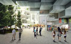 Gallery of BIG Designs Moshe Safdie-Inspired Habitat for Toronto - 4