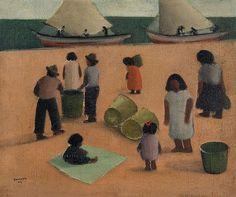 José Pancetti (1902-1958) Esperando a Pesca, 1944