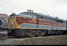 RailPictures.Net Photo: EL 857 Erie Lackawanna Alco PA-2 at Marion, Ohio by Roger Lalonde