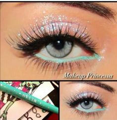 Pretty - Mermaid eyes interesting way to use color