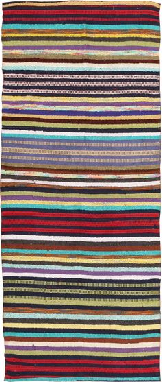 View this beautiful Vintage Swedish Rag Rug 46662 from Nazmiyal's fine antique rugs and decorative carpet collection.