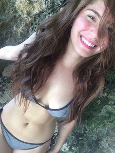 Actress Jessy Mendiola emerged as the Philippines' sexiest woman and the full list of this year's FHM sexiest list announced Thursday, June Hot Bikini, Bikini Swimwear, Bikinis, Swimsuits, Filipina Beauty, Celebrity Bikini, Asian Hotties, Bikini Photos, Celebrity Pictures