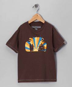 Take a look at this Cocoa Sunset Surf Tee - Toddler & Boys by Dogwood on #zulily today!