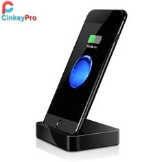 CinkeyPro Charger Dock for Apple iPhone 7 6 6S 5 5S USB Adapter Mobile Phone Charging Holder Charger Home Office Stand