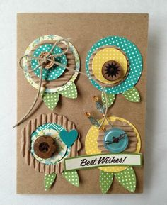 Kristine Davidson - Best Wishes (Guest Designer) via Jillibean Soup Blog