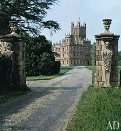 The setting of Downton Abbey, Highlere Castle
