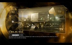 Deus Ex Human Revolution - User Interface on Behance