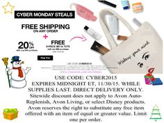 OFFER EXTENDED  One more day to save big. www.youravon.com/awelshans