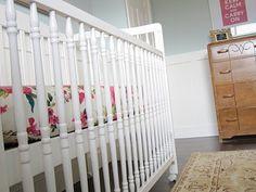 """""""Our House"""" : baby girl nursery"""