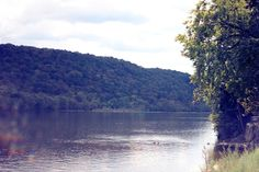 Delaware River, New Hope, PA  ~ our back yard overlooked this tranquil scene