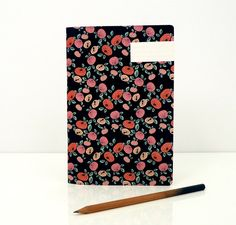 1 Fruits notebook  1 carnet Fruits by SEASONPAPER on Etsy